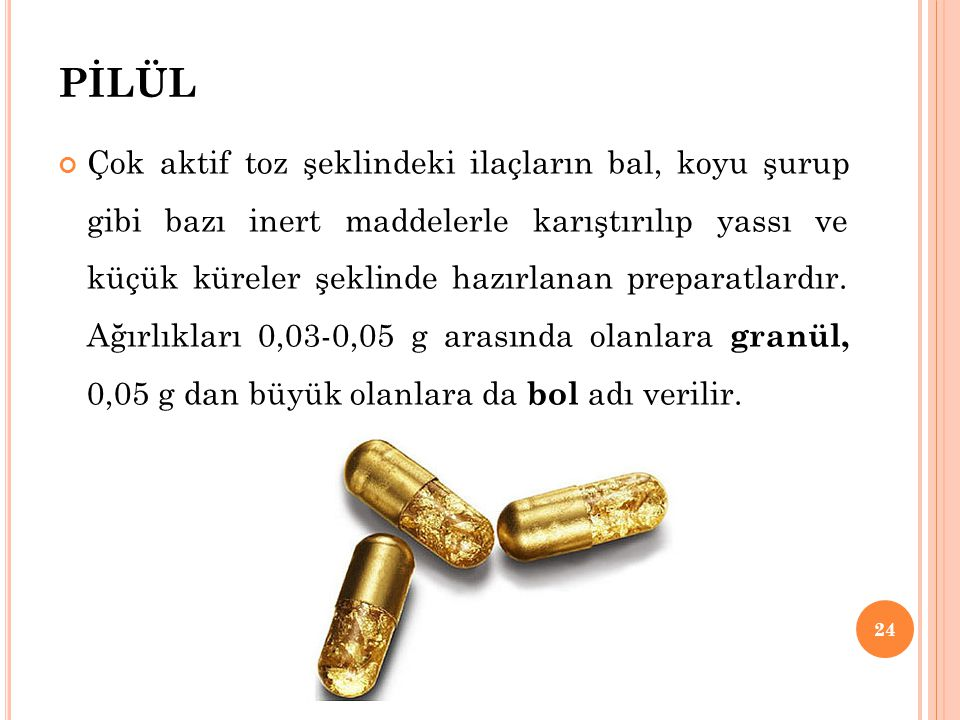 PİLÜL