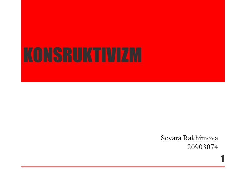 konsruktivizm Sevara Rakhimova 20903074