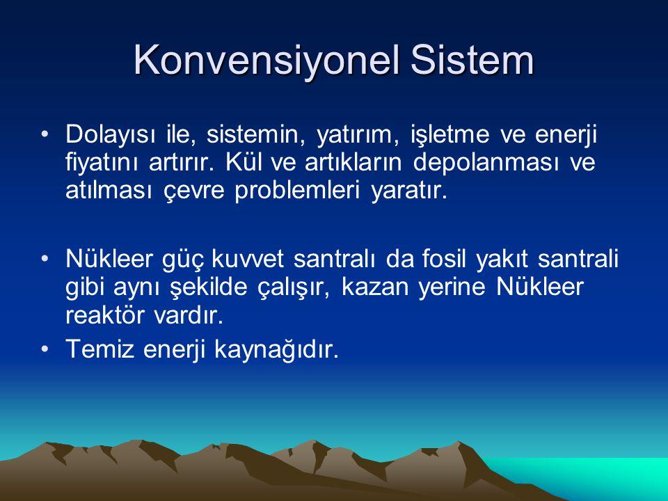 Konvensiyonel Sistem