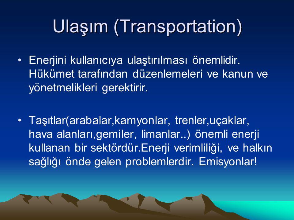 Ulaşım (Transportation)