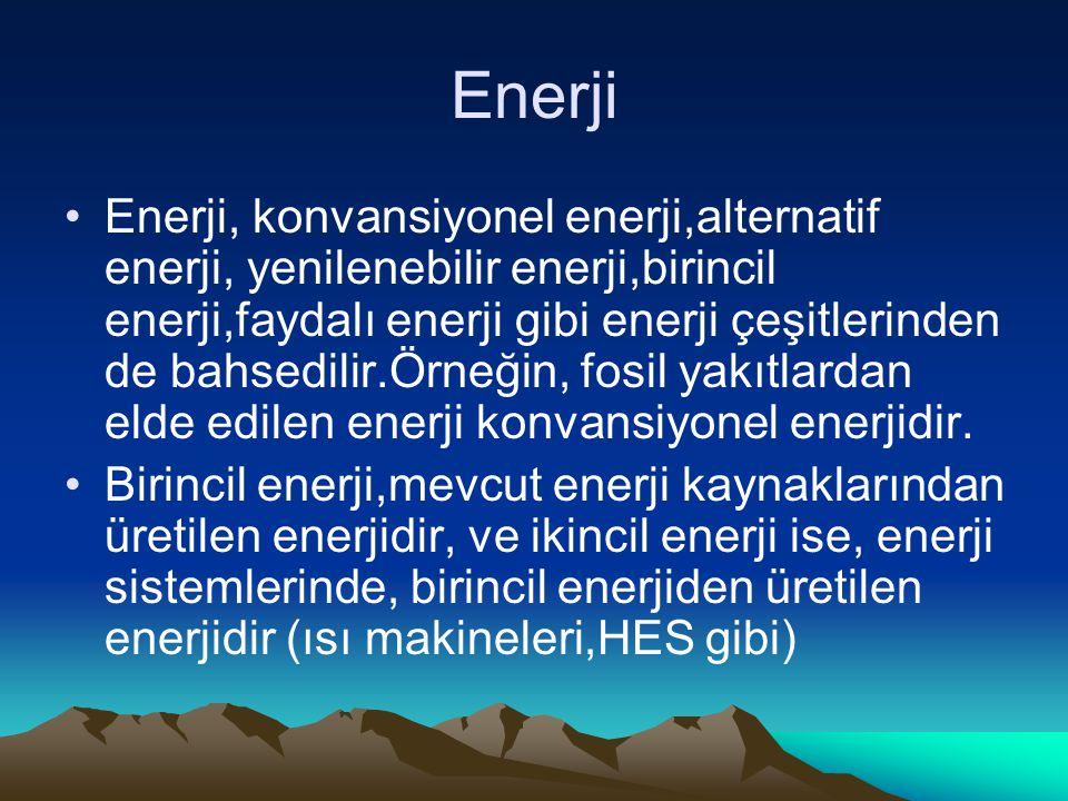 Enerji