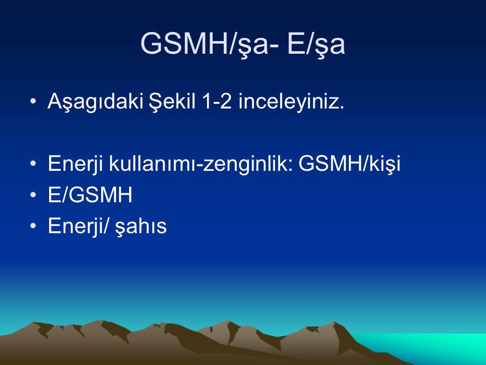 GSMH/şa- E/şa Aşagıdaki Şekil 1-2 inceleyiniz.