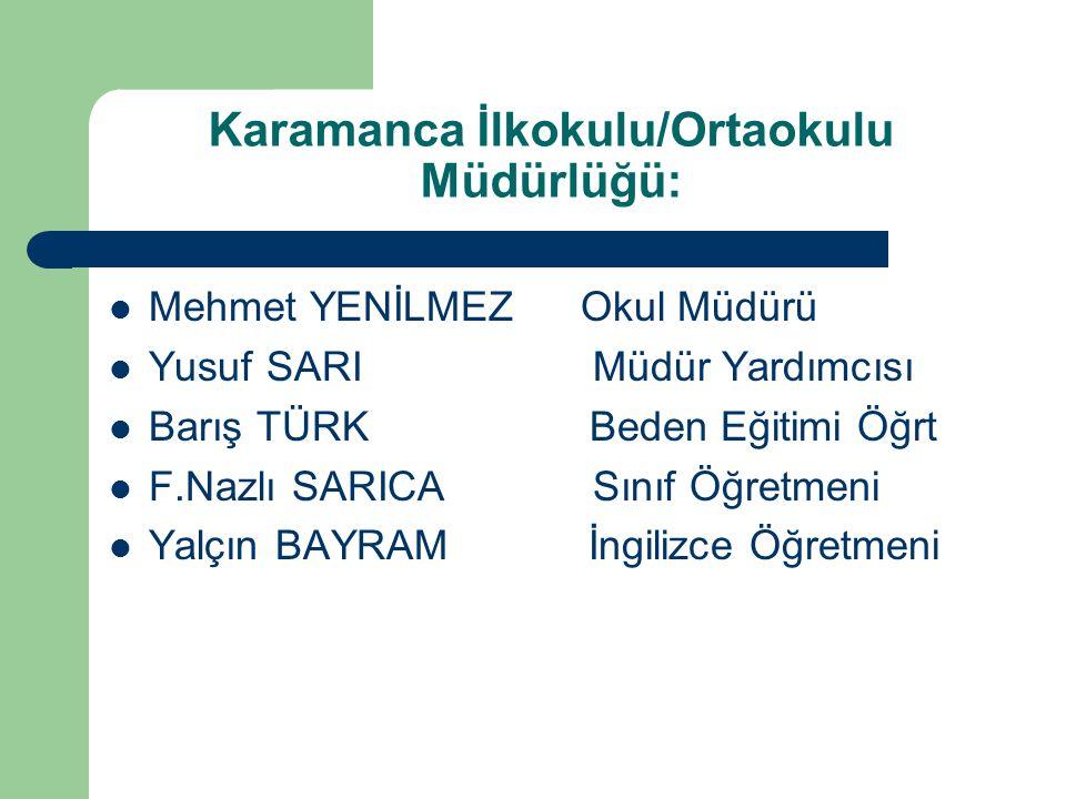 Karamanca İlkokulu/Ortaokulu Müdürlüğü:
