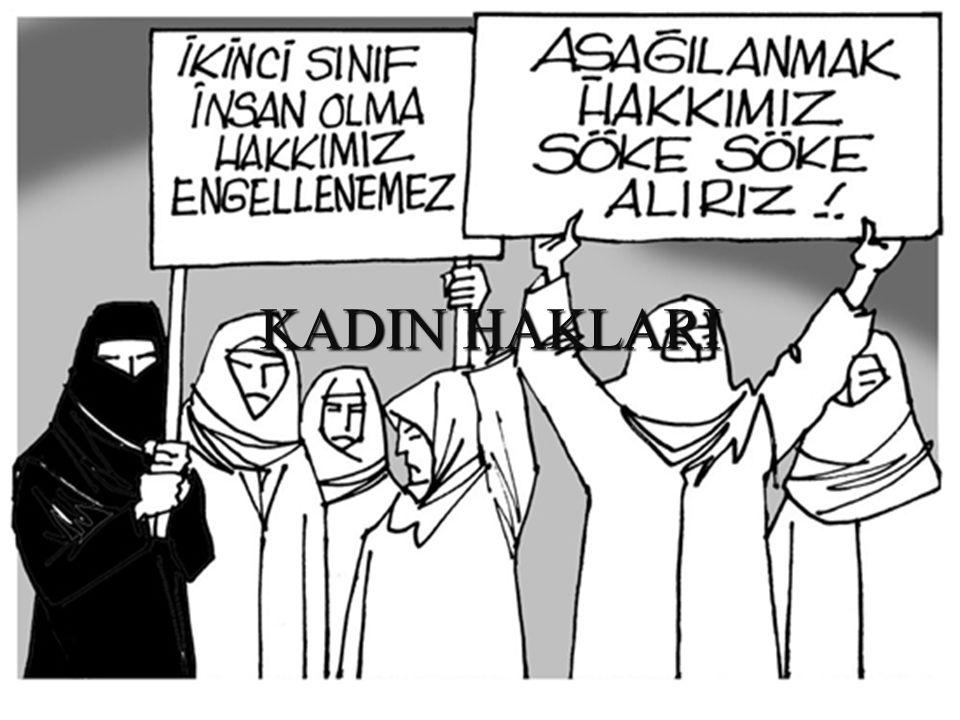KADIN HAKLARI