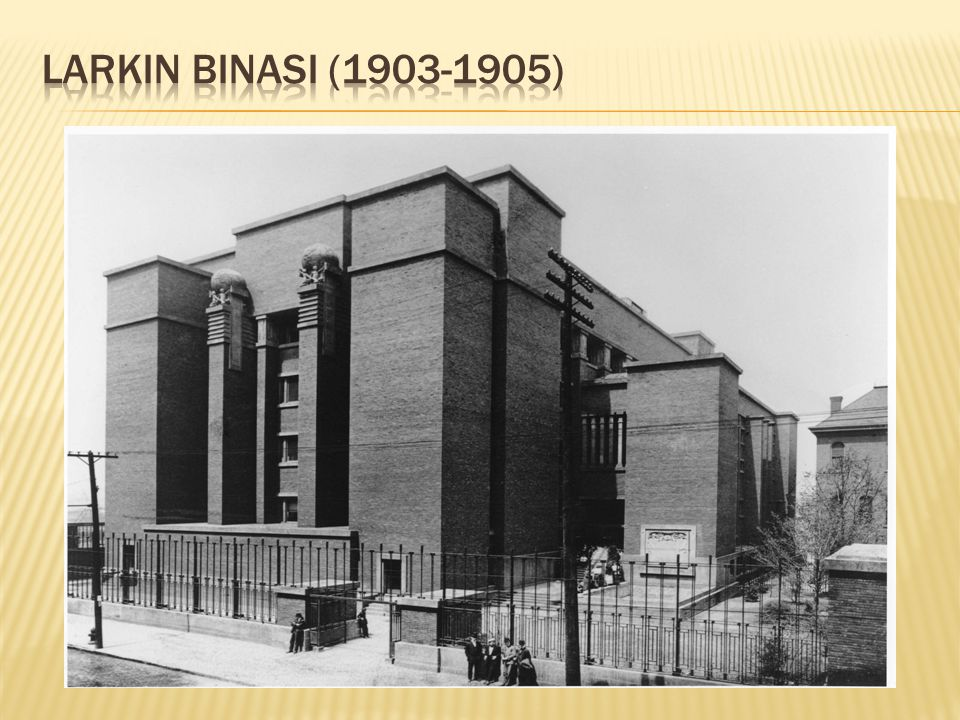 Larkin BinasI (1903-1905)
