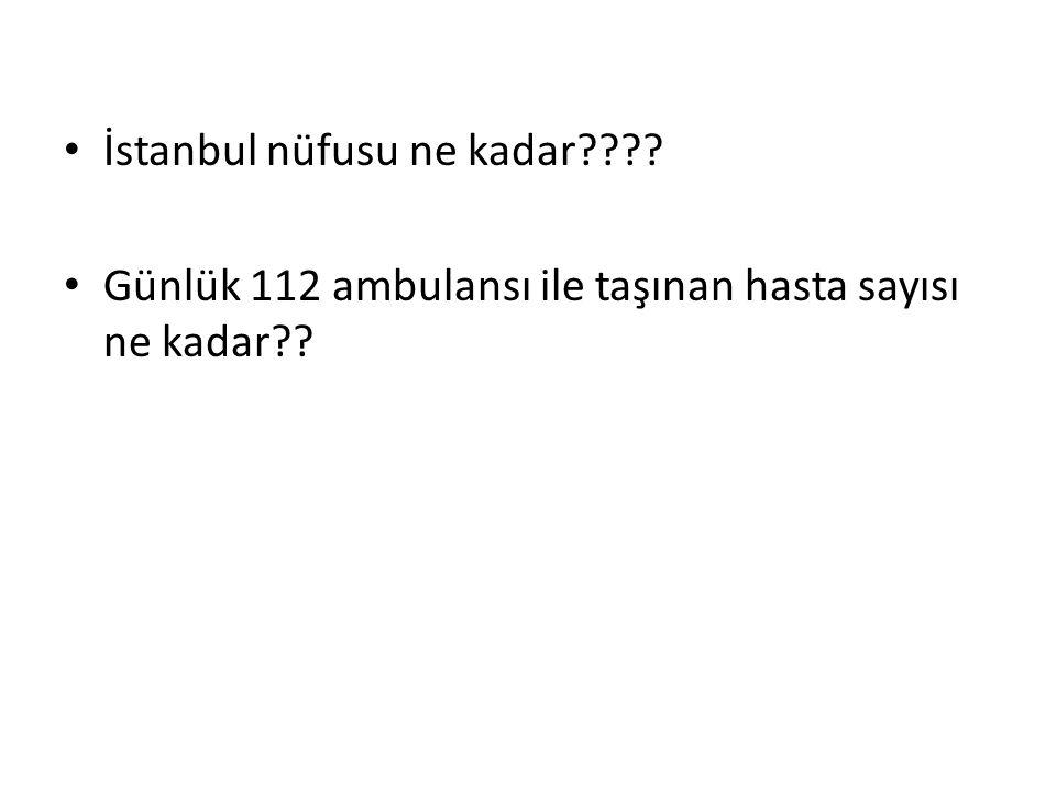 İstanbul nüfusu ne kadar