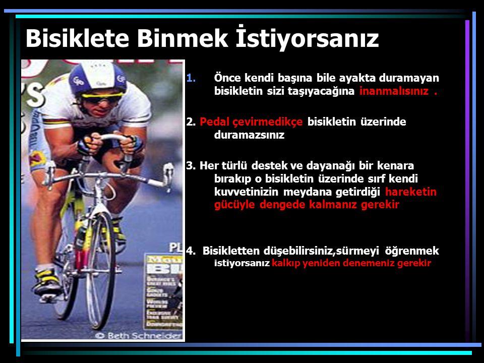 Bisiklete Binmek İstiyorsanız