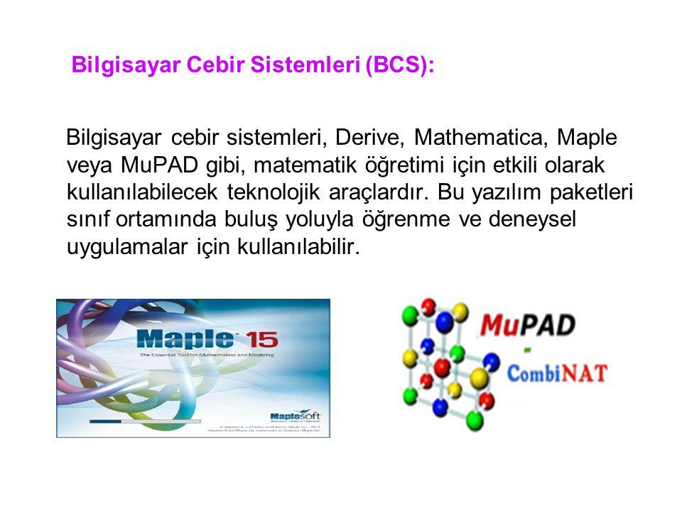 Bilgisayar Cebir Sistemleri (BCS):