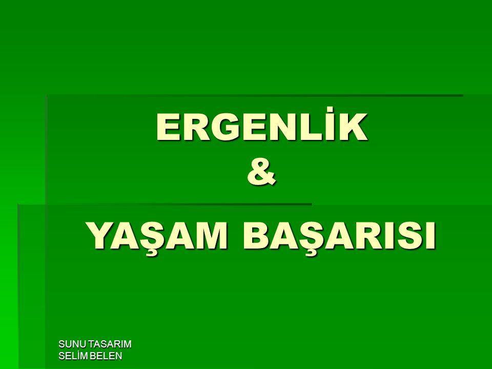 ERGENLİK & YAŞAM BAŞARISI