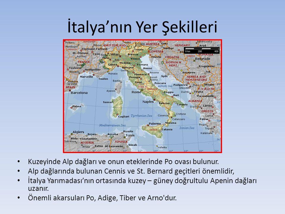 İtalya'nın Yer Şekilleri