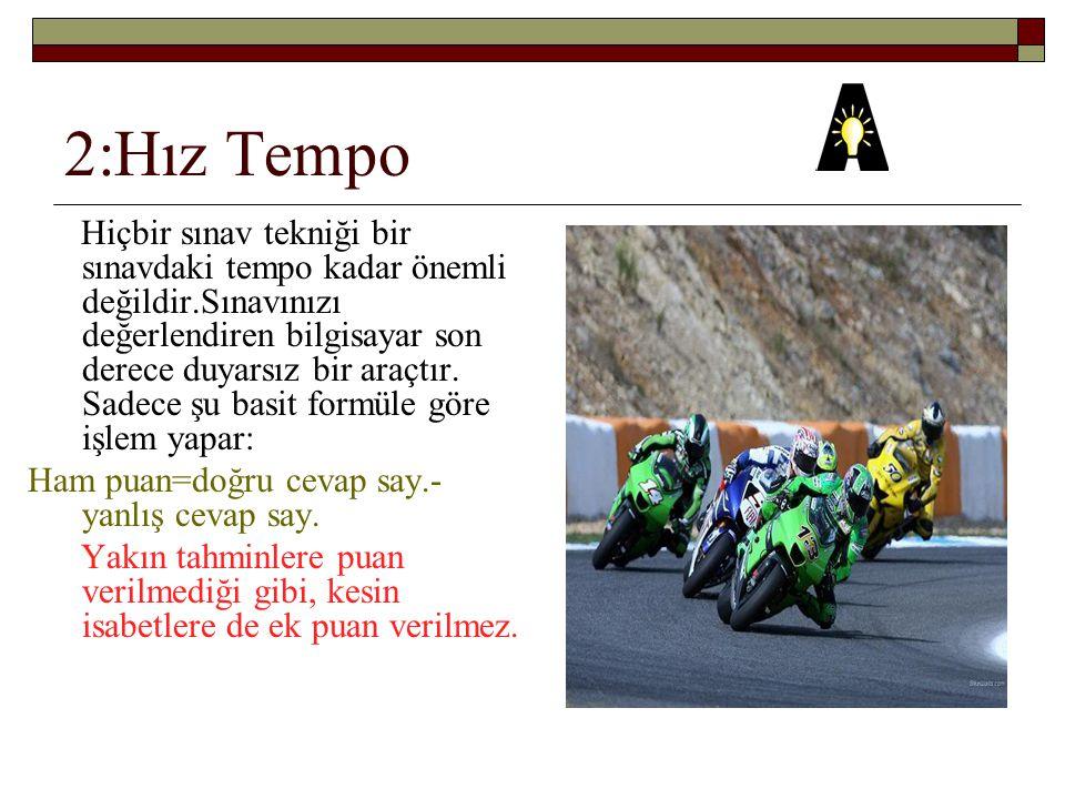2:Hız Tempo