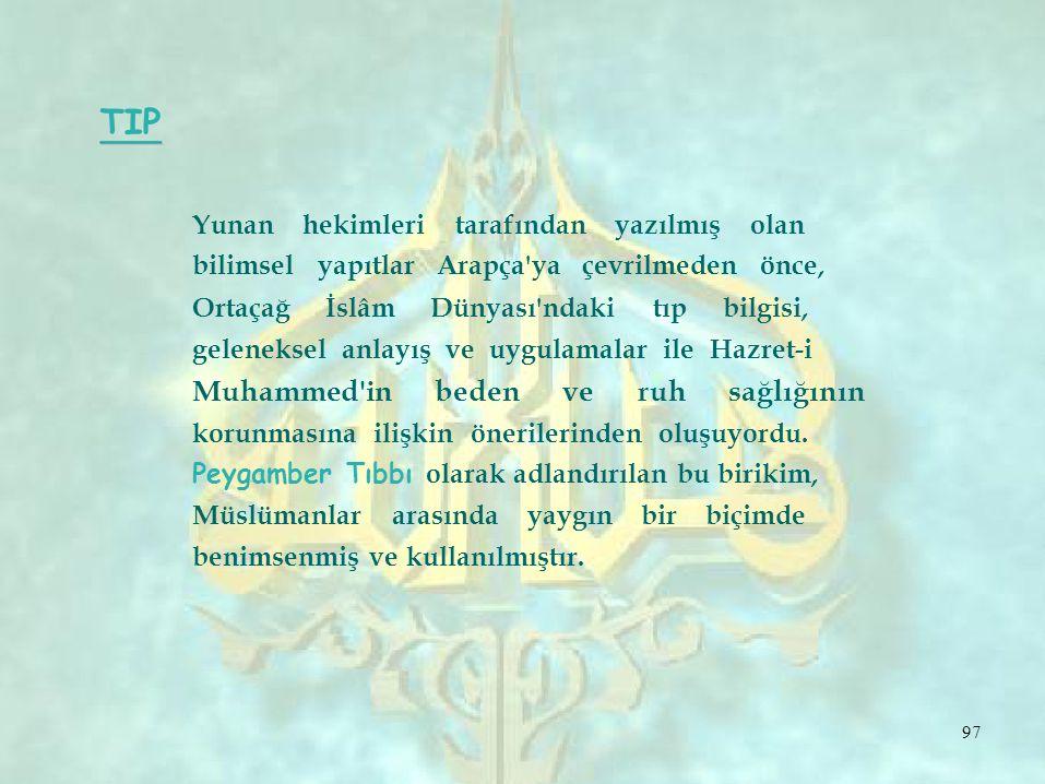 Yunan hekimleri tarafından yazılmış olan