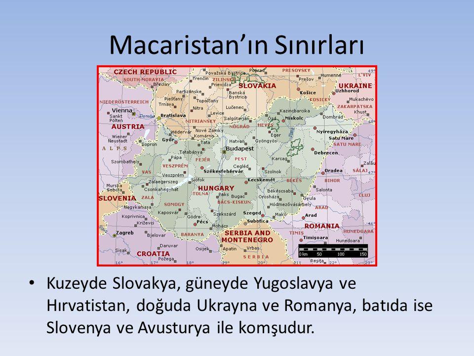 Macaristan'ın Sınırları