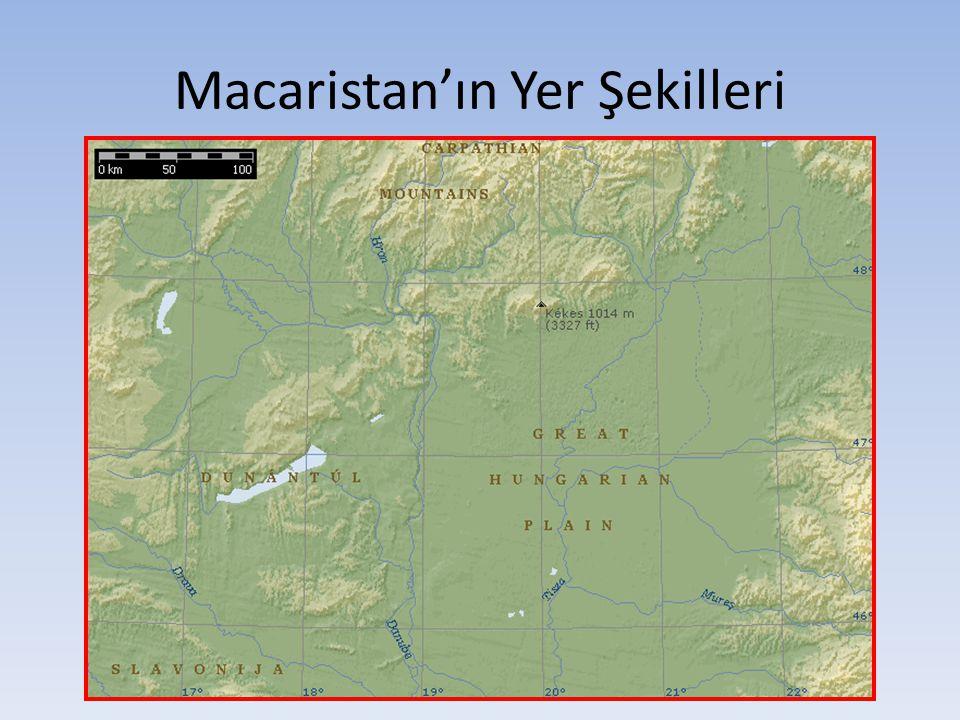 Macaristan'ın Yer Şekilleri