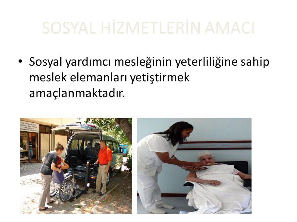 SOSYAL HİZMETLERİN AMACI