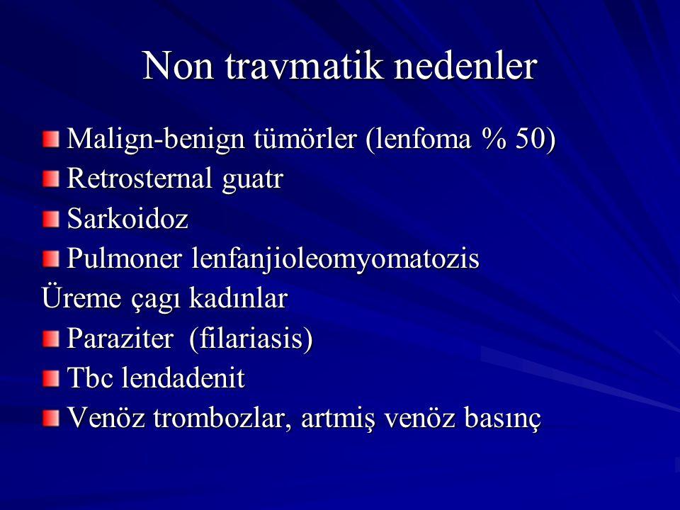 Non travmatik nedenler