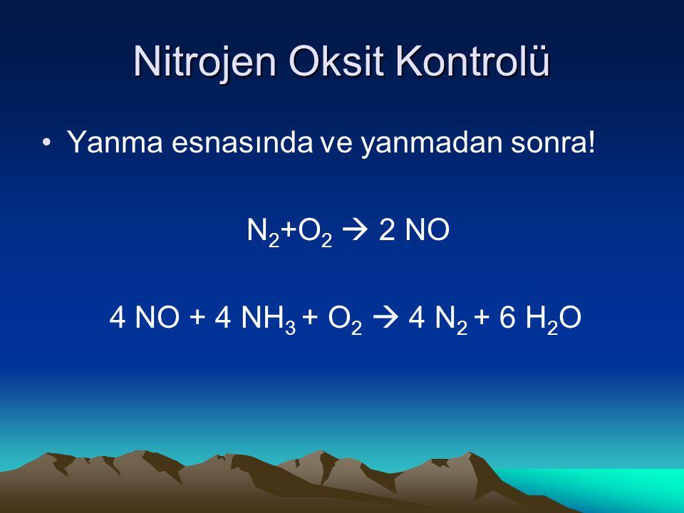 Nitrojen Oksit Kontrolü