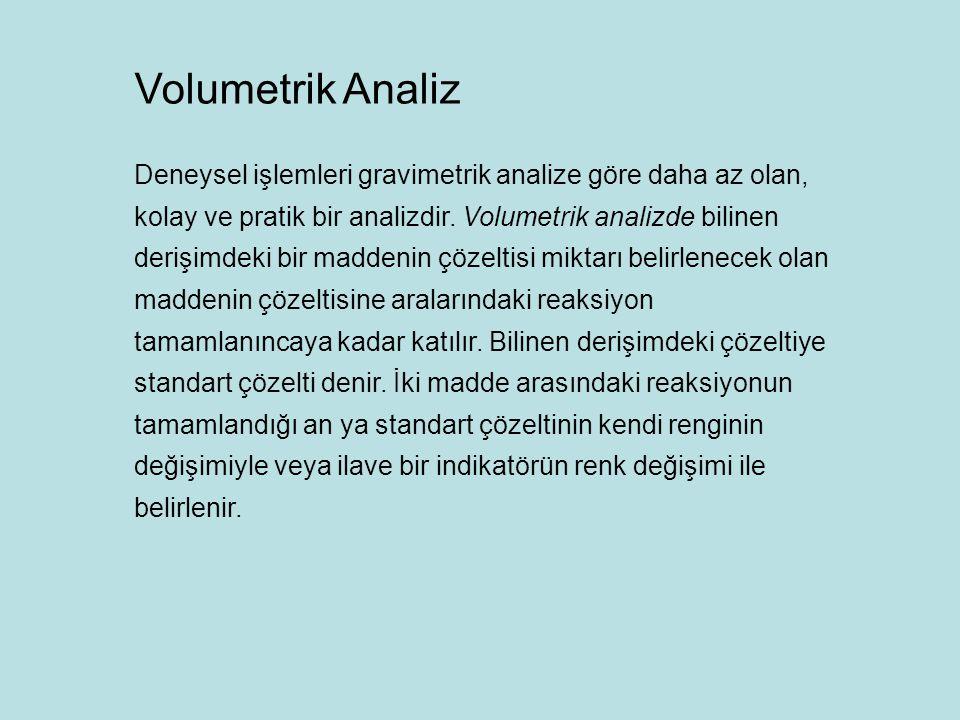Volumetrik Analiz