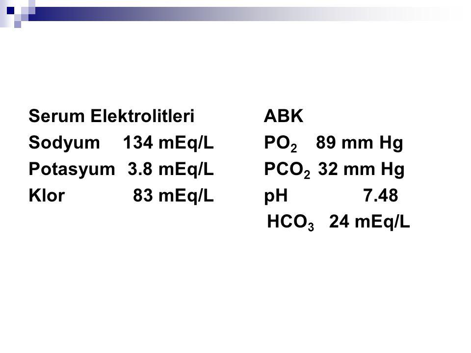 Serum Elektrolitleri ABK