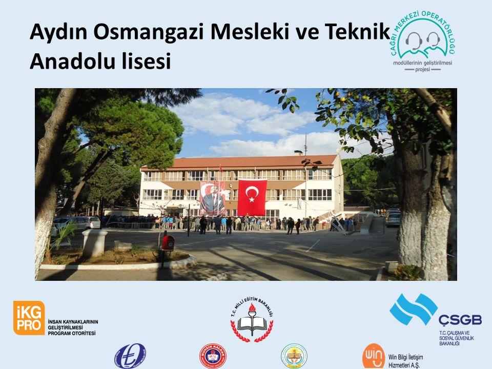 Aydın Osmangazi Mesleki ve Teknik Anadolu lisesi
