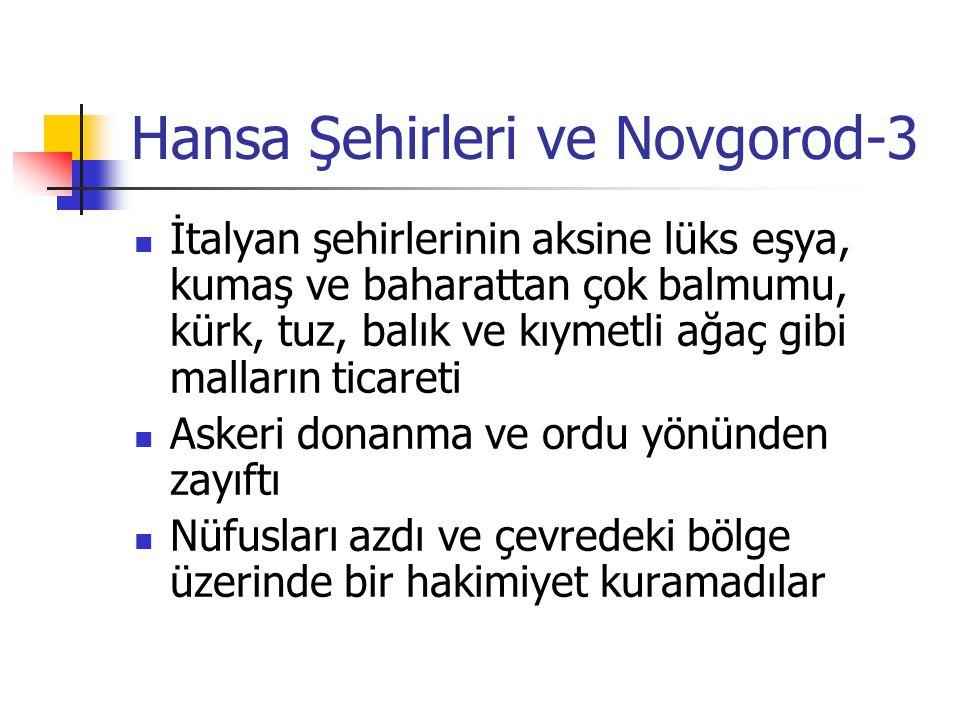 Hansa Şehirleri ve Novgorod-3