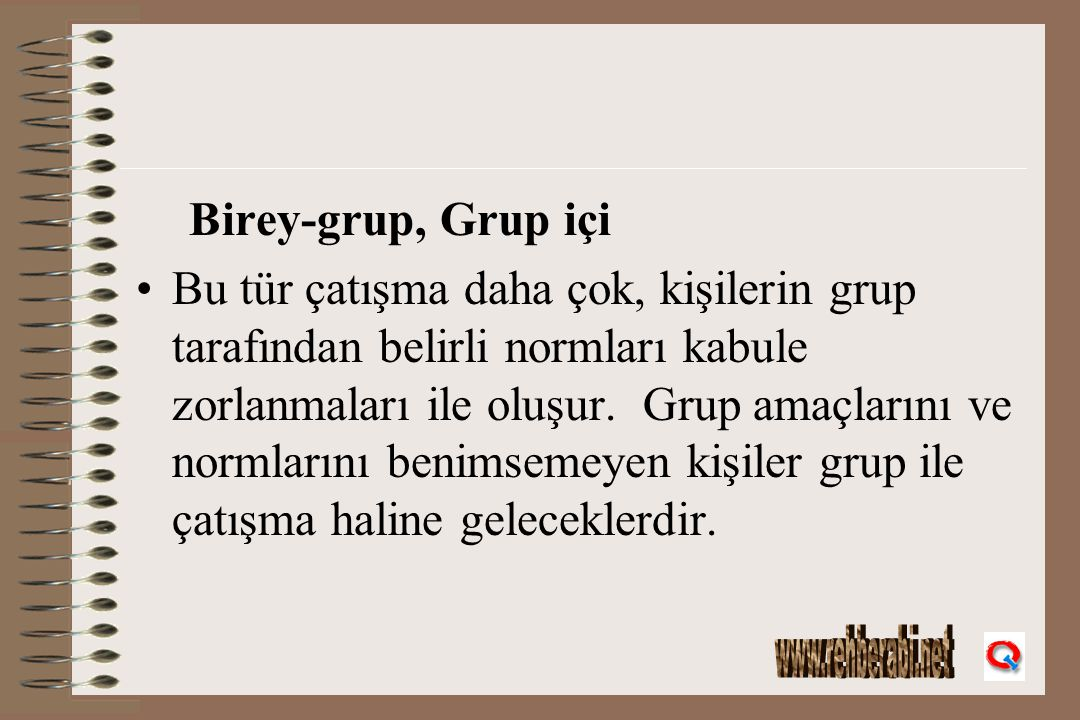 Birey-grup, Grup içi