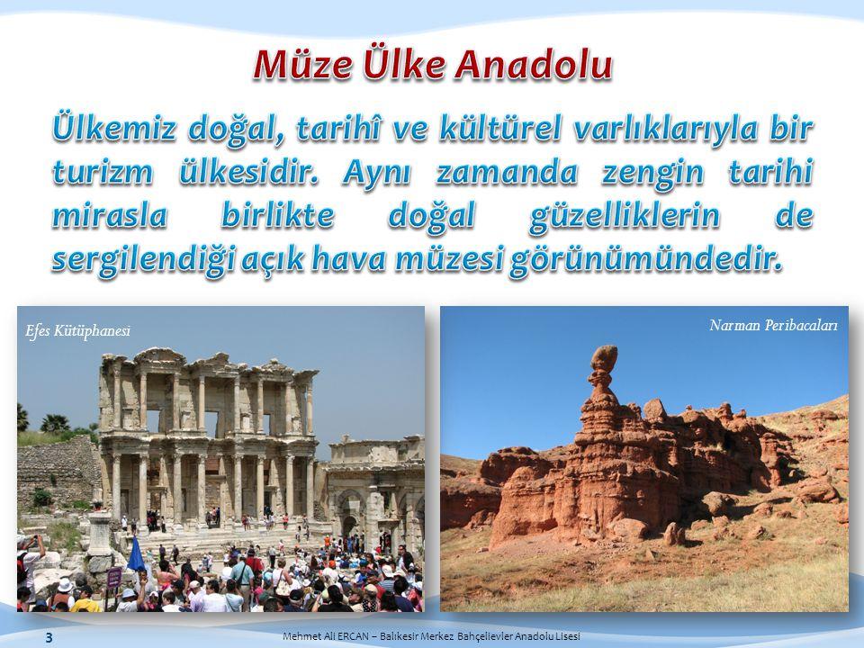 Müze Ülke Anadolu