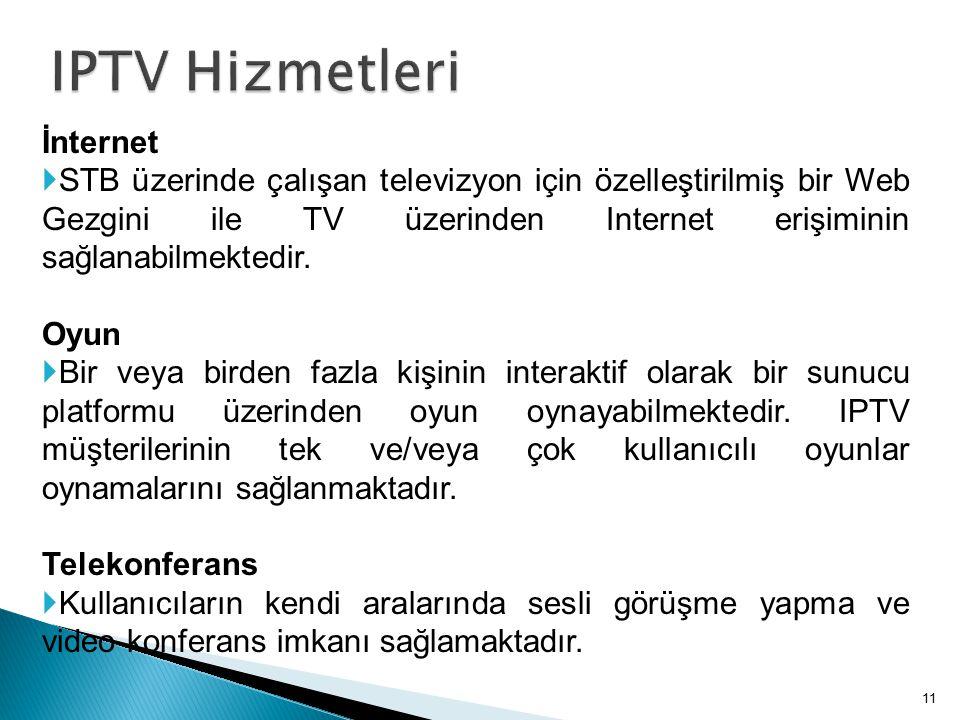 IPTV Hizmetleri İnternet