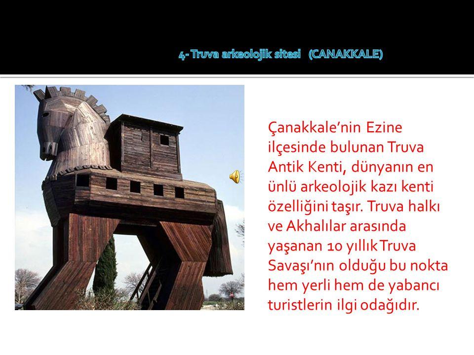 4- Truva arkeolojik sitesi (CANAKKALE)