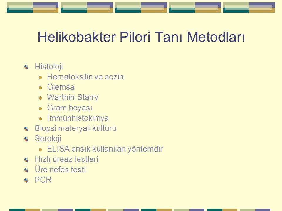 Helikobakter Pilori Tanı Metodları