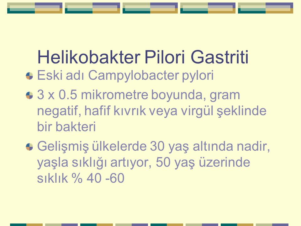 Helikobakter Pilori Gastriti