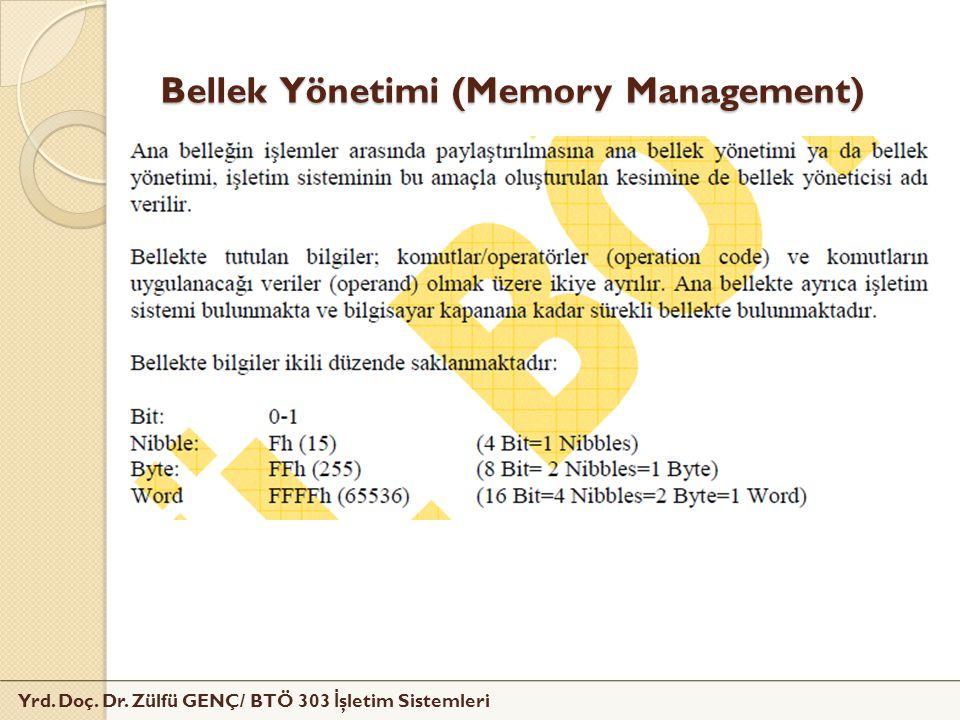 Bellek Yönetimi (Memory Management)