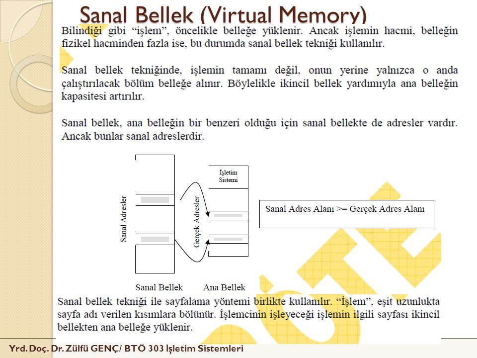 Sanal Bellek (Virtual Memory)