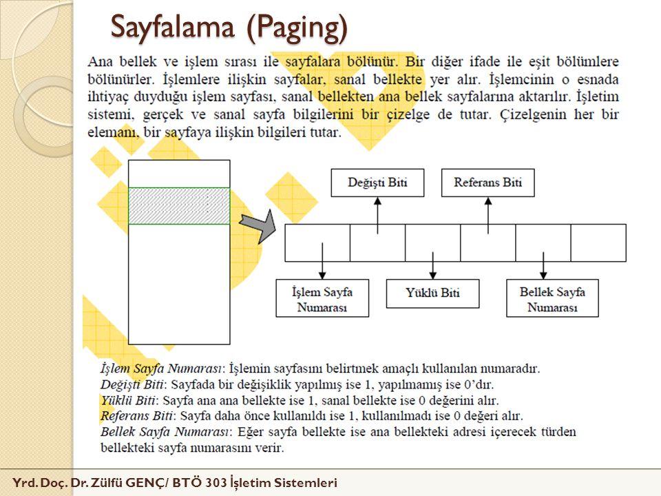Sayfalama (Paging)