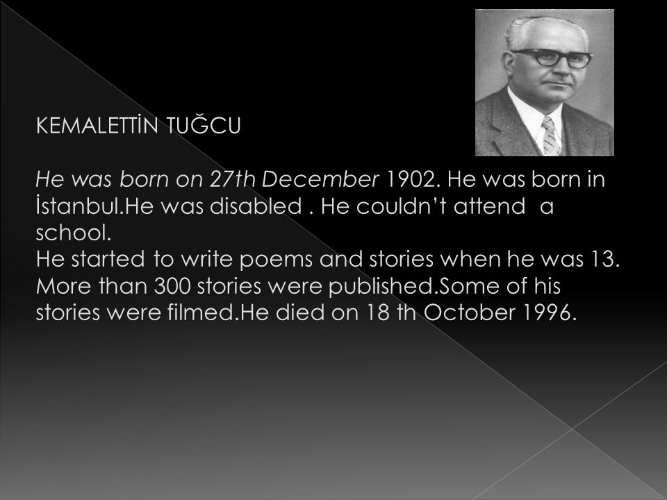 He was born on 27th December 1902. He was born in