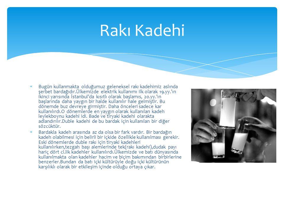 Rakı Kadehi