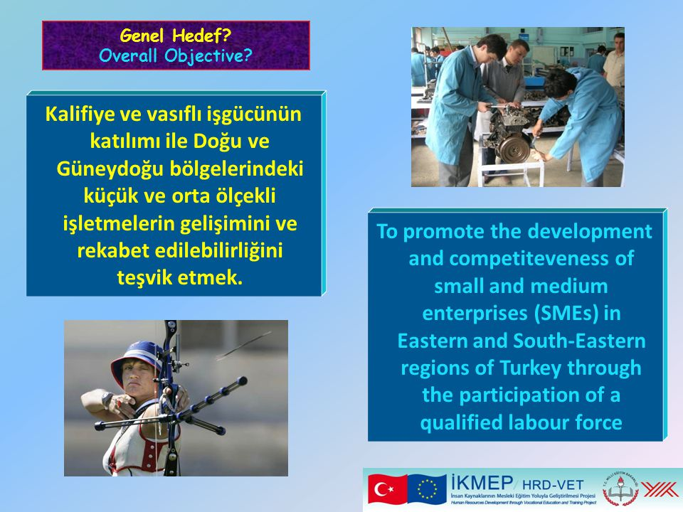Genel Hedef Overall Objective