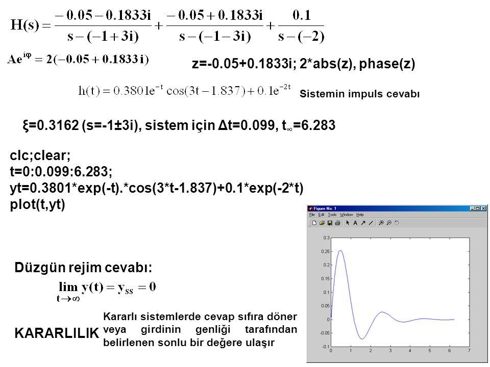 z=-0.05+0.1833i; 2*abs(z), phase(z)