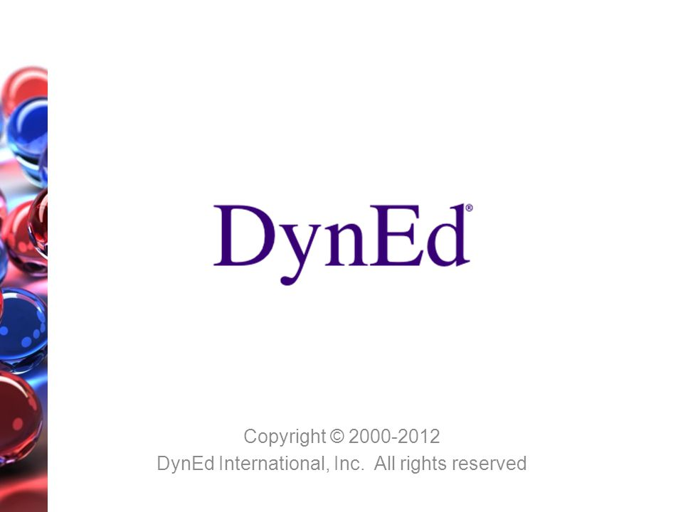 Copyright © 2000-2012 DynEd International, Inc. All rights reserved