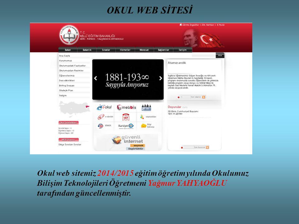 OKUL WEB SİTESİ