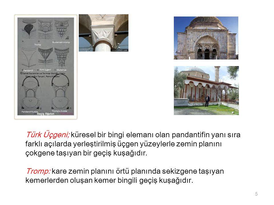 Türk Üçgeni; küresel bir bingi elemanı olan pandantifin yanı sıra