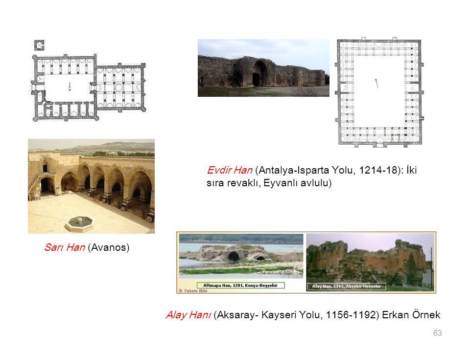 Alay Hanı (Aksaray- Kayseri Yolu, 1156-1192) Erkan Örnek