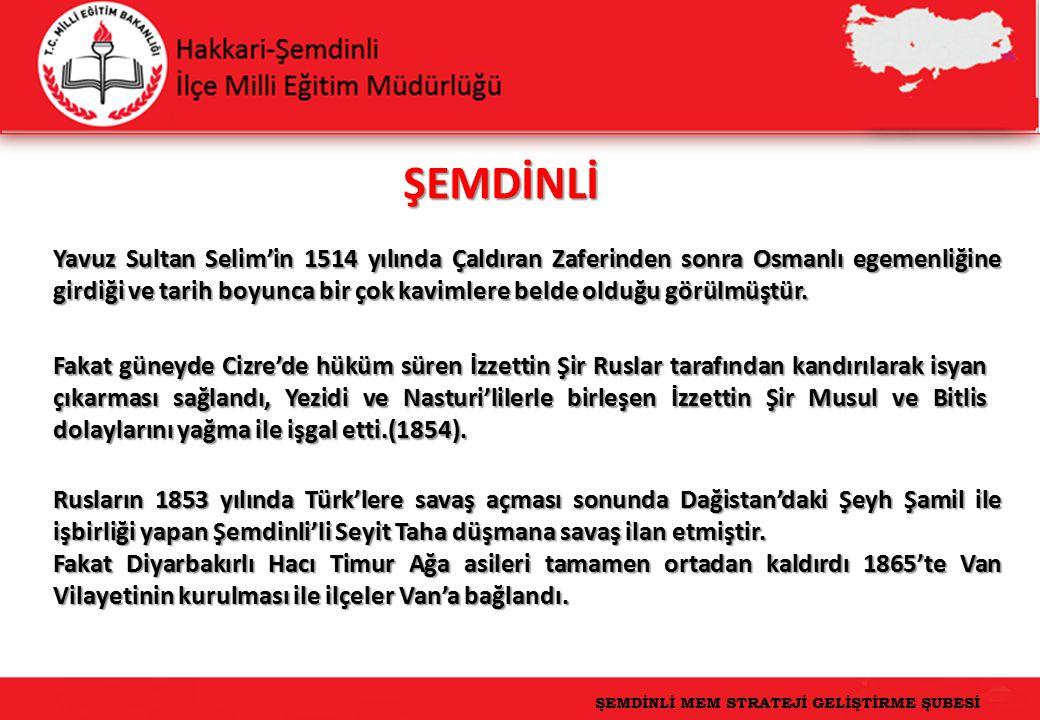 ŞEMDİNLİ