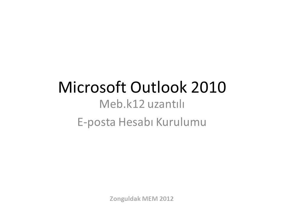 Meb.k12 uzantılı E-posta Hesabı Kurulumu
