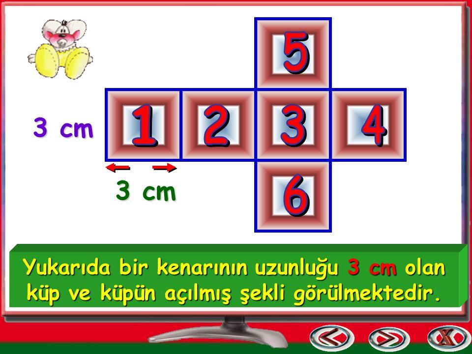 5 1. 2. 3. 4. 3 cm. 6. 3 cm.