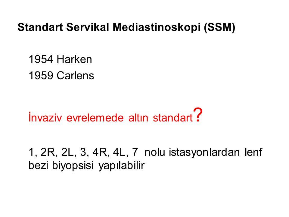 Standart Servikal Mediastinoskopi (SSM)