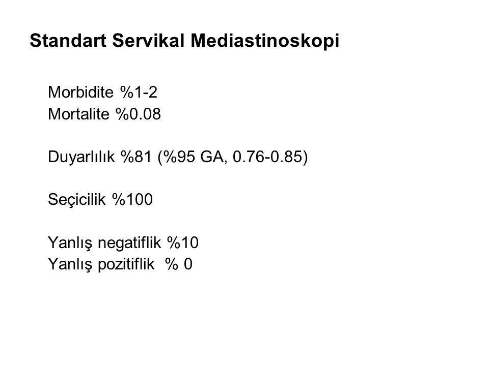 Standart Servikal Mediastinoskopi