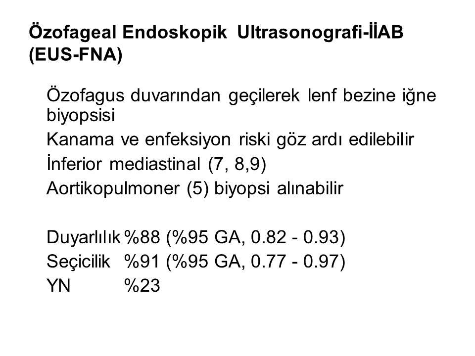 Özofageal Endoskopik Ultrasonografi-İİAB (EUS-FNA)