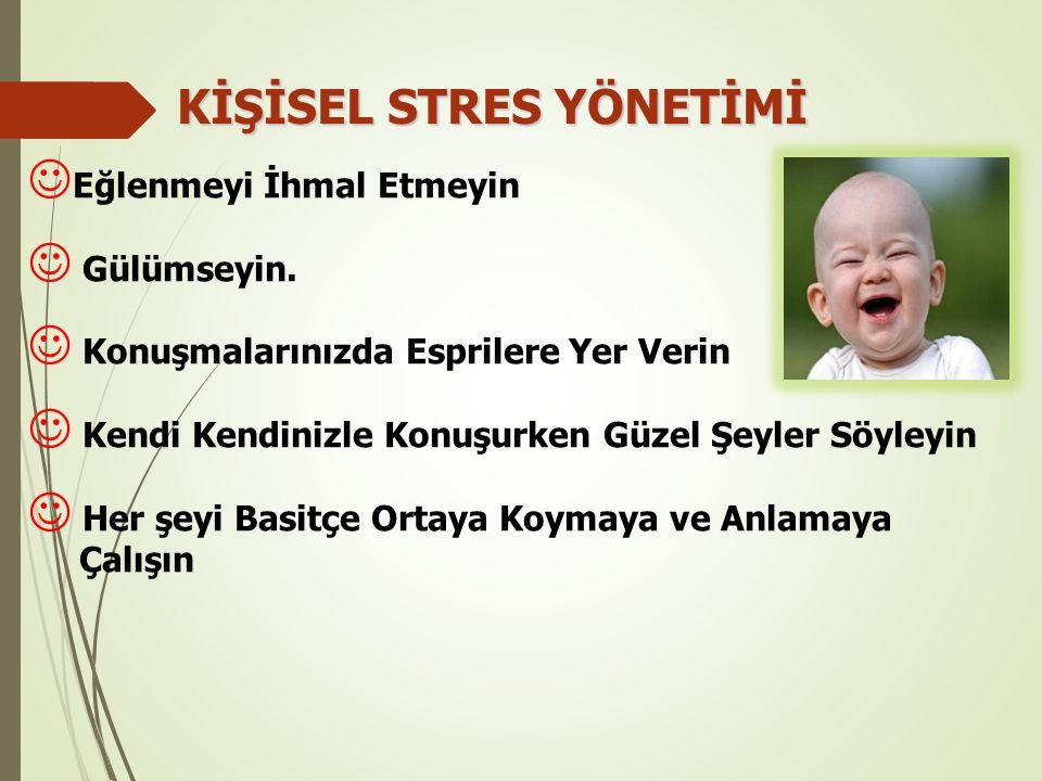 KİŞİSEL STRES YÖNETİMİ
