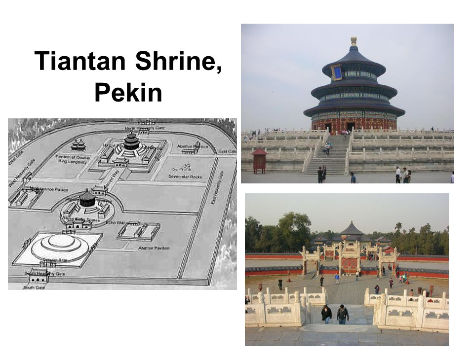 Tiantan Shrine, Pekin